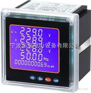 浙江乔宇电气有限公司电压表qy42-3av接线图