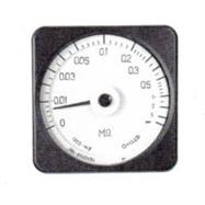 上海自一船用儀表廠,廣角度高阻表,13C3-MΩ