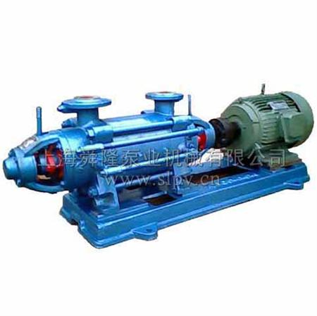 d型卧式多级离心泵结构说明