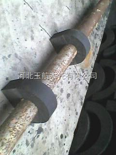 保温性强. 防振性好 冷冻水管木管托 太原销售处