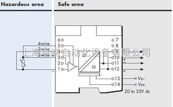 光电隔离式安全栅原理电路图