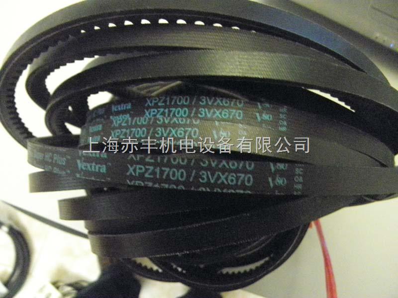 进口供应XPZ1762耐高温三角带空压机皮带盖茨皮带