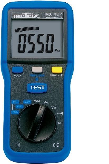 法国MX407 绝缘电阻测试仪报价