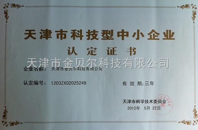 天津市科技中小企业资质论证