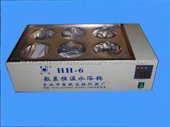 HH-6双列六孔恒温水浴锅(全不锈钢)