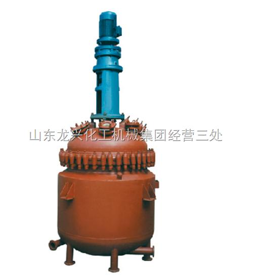 电加热、蒸汽加热搪玻璃反应罐