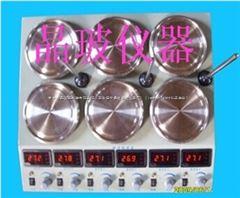 JB-409双排六联加热磁力搅拌器