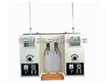SYD-6536A石油產品蒸餾試驗器,上海昌吉SYD-6536A石油產品蒸餾試驗器(雙管式)