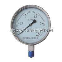 上海自动化仪表四厂Y-103B-FZ/Y-103BFZ不锈钢耐震压力表