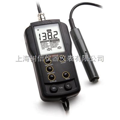 哈纳HI8733 微电脑温度补偿功能电导率EC测定仪
