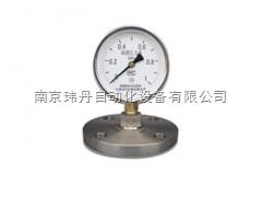 YML、MF隔膜压力表: