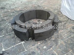 供应镀锌管道扇形木块  厂家
