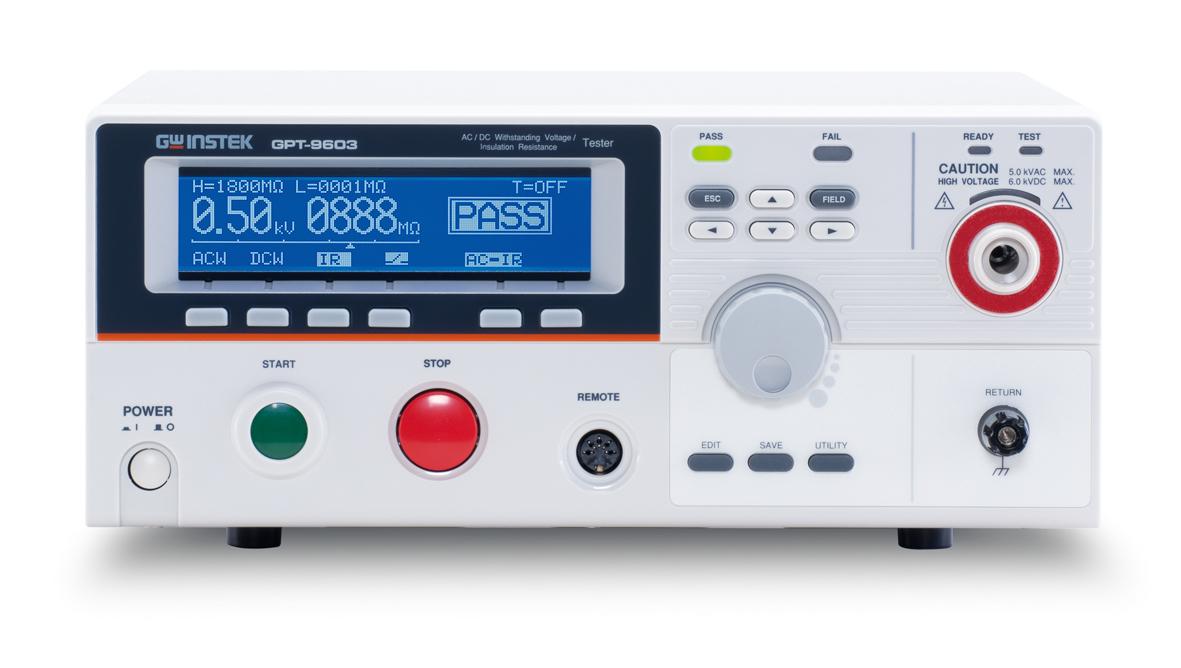 GPT-9601 交流耐压安规测试器