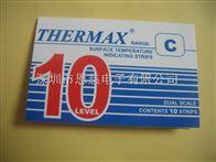10格C型英国THERMAX温度变色纸 热敏试纸