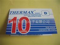 10格D型英国THERMAX温度试纸