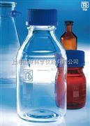 现货促销,买一送一!德国进口玻璃蓝盖瓶(试剂瓶,流动相瓶),硼硅酸玻璃