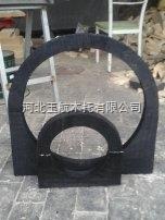 专业生产管道木托码 管道垫木厂家