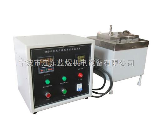 绝热用岩棉热荷重测试装置