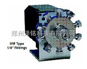 """山東/河南現貨進口1/16"""" 接頭0.40mm口徑(.016"""")W型內置定量管進樣閥"""
