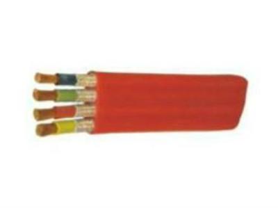 硅橡胶护套耐高温、防腐、耐油扁形电力电缆