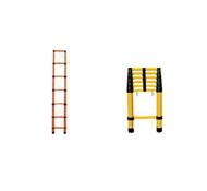 ST鱼竿式伸缩绝缘梯子,圆管伸缩梯子,电工用绝缘梯子