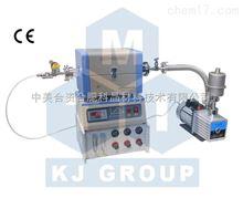 1200℃微型二通道混氣CVD系統-OTF-1200X- S50- 2F