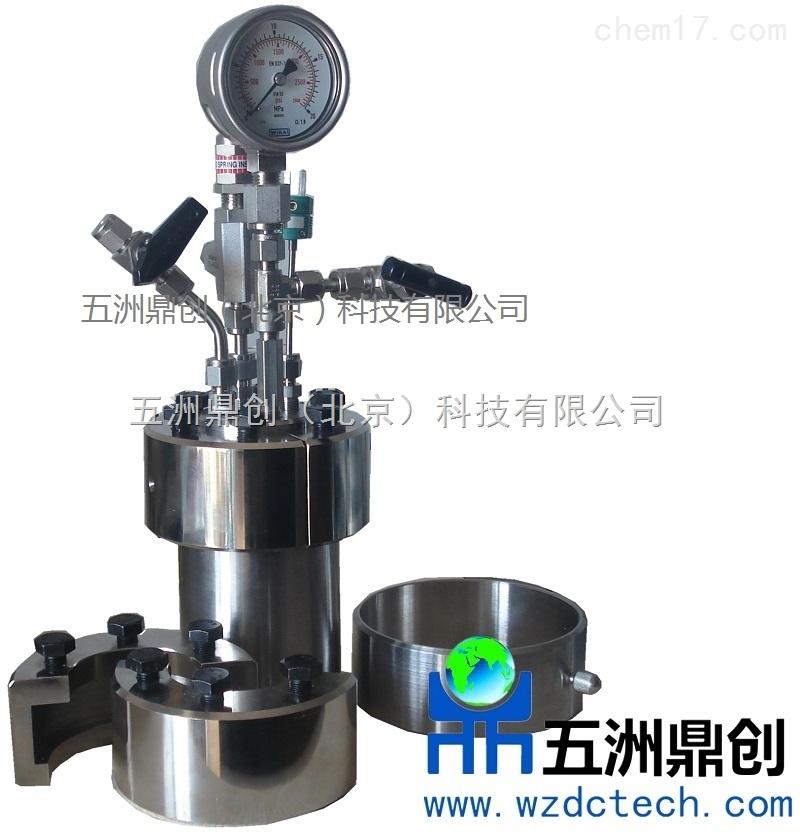 DC系列不锈钢高压反应釜 微型水热釜