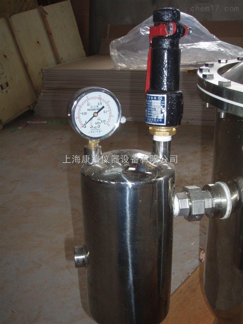 上海TZ系列不锈钢塔式蒸汽重蒸馏水器报价 TZ系列不锈钢塔式蒸汽重蒸馏水器 产品型号:TZ50/TZ100/TZ200/TZ400/TZ600 上海TZ系列不锈钢塔式蒸汽重蒸馏水器报价性能特点 整体采用优质不锈钢制作。 利用锅炉提供的高温蒸汽为热能加热,节约能源。 利用锅炉蒸汽冷凝的水为源水。 盘式蒸汽加热管,热效率高。 列管式冷却装置出水量大,易于维护。 在蒸馏过程中能有效实现过滤、排氨、水汽分离,保证生产的蒸馏水质量。 上海TZ系列不锈钢塔式蒸汽重蒸馏水器报价 主要技术参数(MainTechnical