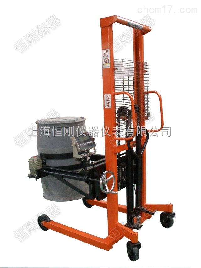 液压智能翻转倒桶秤,工厂翻转电子倒桶机