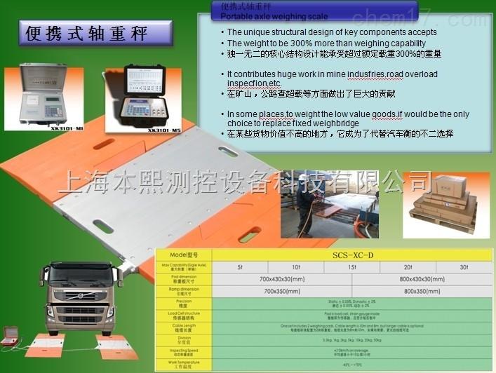 40吨便携式轴重称移动式电子车辆衡地磅厂家