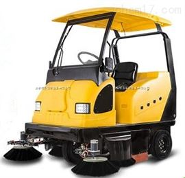 BL1900封閉式駕駛式電動掃地機 環衛道路清掃用掃地車