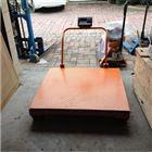 静海县2吨带万向轮移动电子磅秤价格