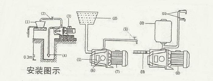 m型018支架安装步骤图