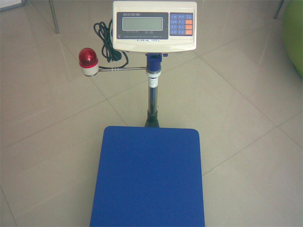 天津控制电子秤30千克—带电磁阀门开关电子台秤报价
