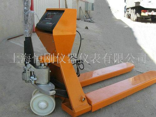3吨液压叉车电子秤
