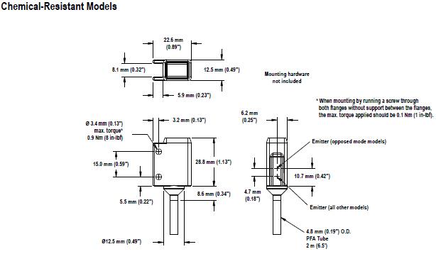 12系列光电传感器