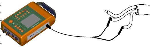 st系列电缆故障综合测试仪接线