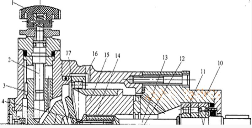 威格士轴向柱塞泵结构图