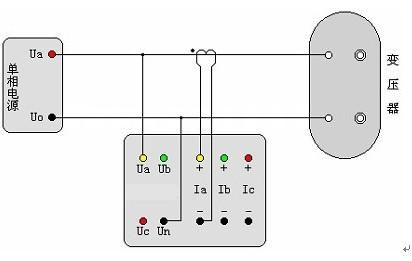 低压配变终端计量接线图