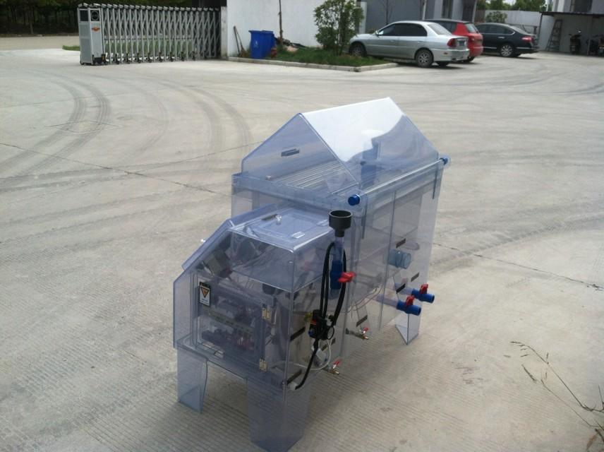 也可通过喷雾器上下调节高度控制盐雾沉降量大小 测控系统 1,设备控温