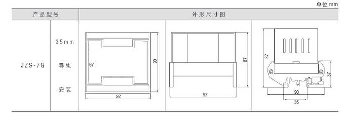 一,主要技术参数 1、延时范围:0.02-9.99S。 2、触点容量:在电压不超过250V,电流不超过1A,时间常数为5MS±0.75MS直流有感负荷电路中,触点断开容量不小于50W;在电压不超过250V,电流不超过5A,功率因数为COSφ=0.4±0.1的交流电路中,断开容量不小于500VA。触点在上述规定的负荷条件下能可靠动作及返回不少于50000次。触点长期允许接通电流不小于5A。 3、功率消耗:额定值下不大于5W/7VA。 4、绝缘性能:同一付开点间耐压不小于1