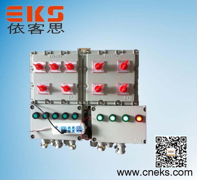 BXD51-6防爆动力配电箱BXD51-6/25/K125防爆动力配电箱材质:铝合金  不锈钢 钢板焊接