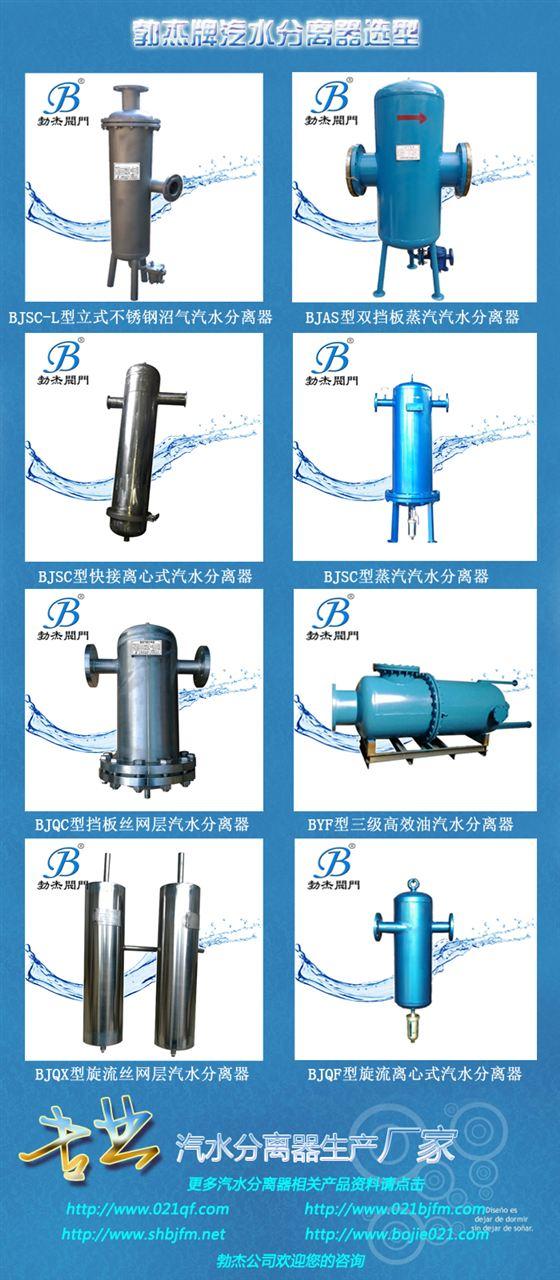 帶液位計汽水分離器型號
