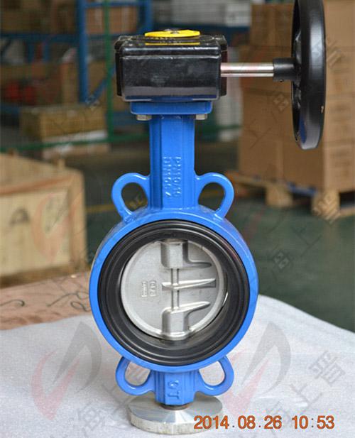 涡轮蝶阀|齿轮箱操作蝶阀|对夹式涡轮蝶阀图片