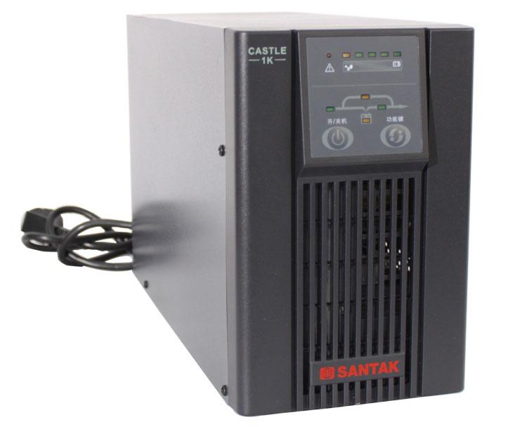 交/直流稳压电源 c1k ups电源山特c1k  ■山特城堡系列c 1kva~3kva