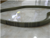 供应进口同步带高速传动带DT10-1420双面齿同步带