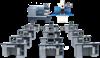 TKK 多媒體網絡型TKK 多媒體網絡型教學生産兩用數控機床機電一體化培訓系統
