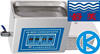 高功率数控超声波清洗器KQ700TDE,昆山舒美牌,超声波清洗器