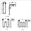 SRJ1型管状电加热元件(碱溶液加热器)