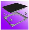 DCS-XC-II1m*1m不锈钢双层小地磅,安徽双层电子移动式小地磅